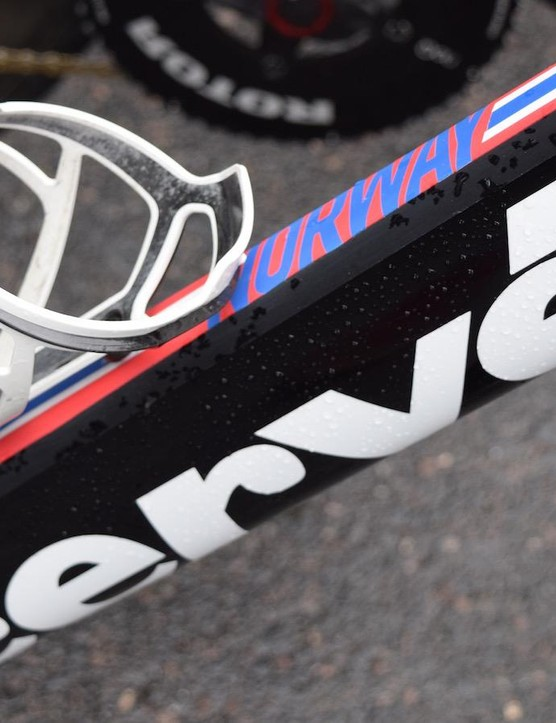 Team Dimension Data is equipped with Tacx Deva bottle cages