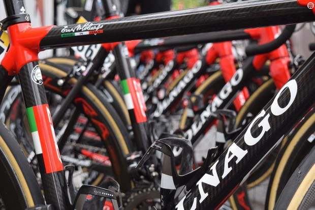 UAE Team Emirates' Colnago C60's always catch the eye
