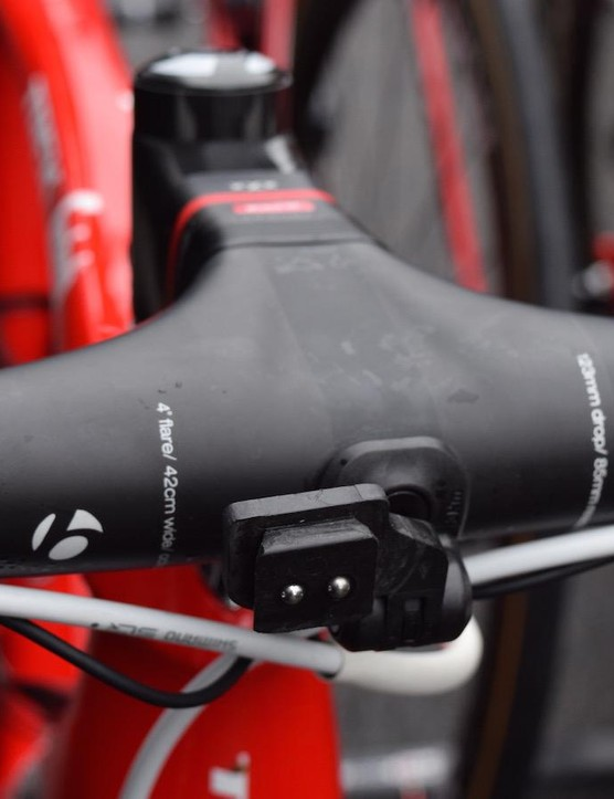 The carbon cockpit adds extra stiffness and reduces weight