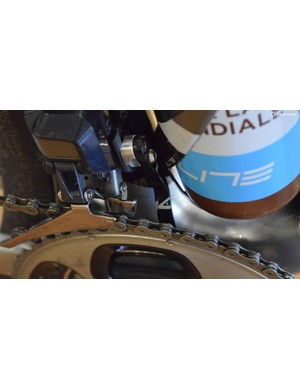 K-Edge provide Bardet with a  chain catcher for his bike