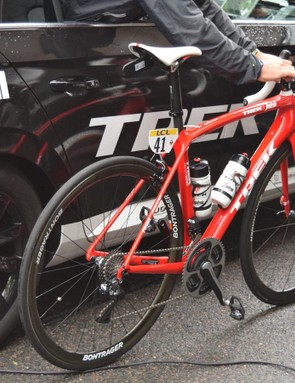 Contador will race the new bike at the Tour de France next month