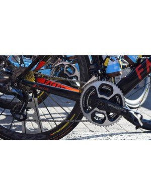 A look at the drivetrain on Naesen's Factor ONE