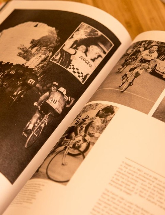 It's a collection of all the things he loves about cycling, from the great riders of yore to the sleek bikes and clothing