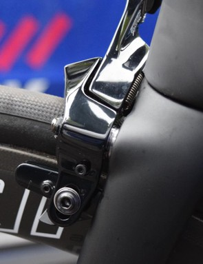 The Tarmac's fork has been designed specifically with the direct mount front brakes in mind