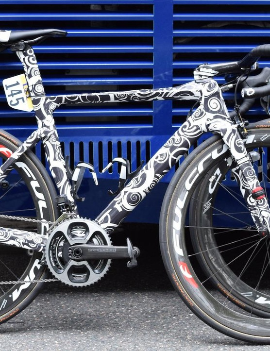 Is Sonny Colbrelli riding the new Merida Reacto