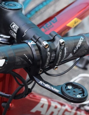 K-Edge provides the out front Garmin mount