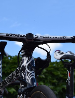 We haven't seen these Vision Metron 6D handlebars before either, which appear to be an update to the 5D versions