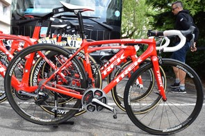 Alberto Contador's Trek Emonda SLR Team Issue Race Shop Limited