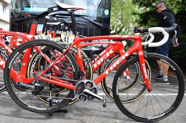Alberto Contador's Trek Emonda SLR Team Issue Race Shop Limited