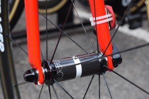 Bontrager Aeolus3 wheels for the multiple Grand Tour champion