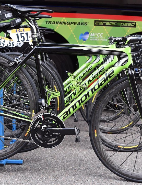 Andrew Talansky's Cannondale Super Six Evo Hi-Mod Team Edition