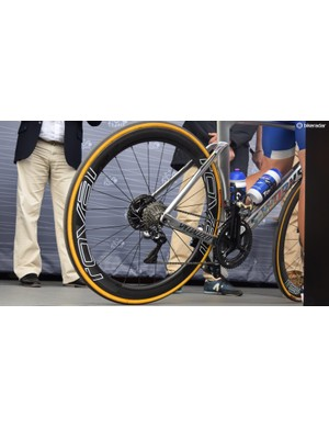 Kittel ran 140mm rotors front and rear