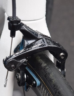 A look at the Shimano Dura-Ace 9100 series front brake