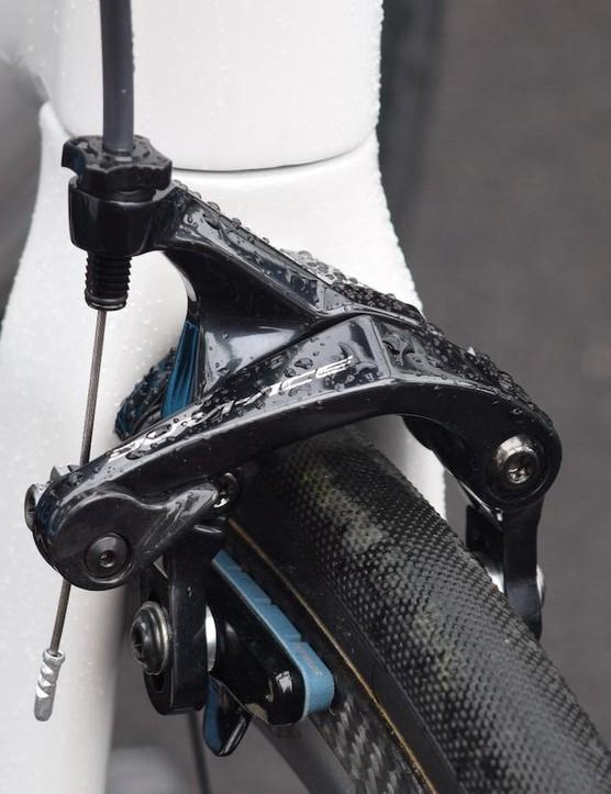 A look at the Shimano Dura-Ace 9100 series front brake