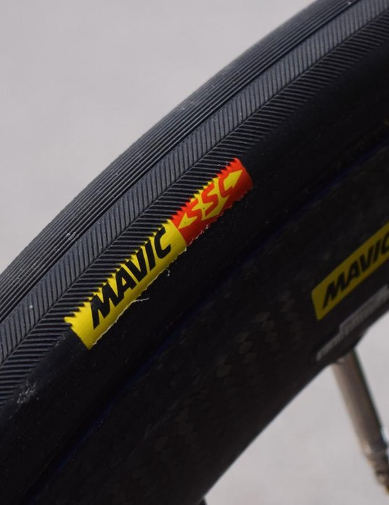 Mavic tyres and wheels for Cannondale-Drapac