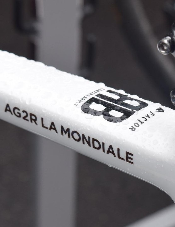 Bardet's initials also sit at the head of the top tube