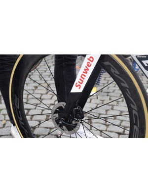 Giant registered the new Propel frameset with the UCI in May this year, notably not registering a rim-brake version