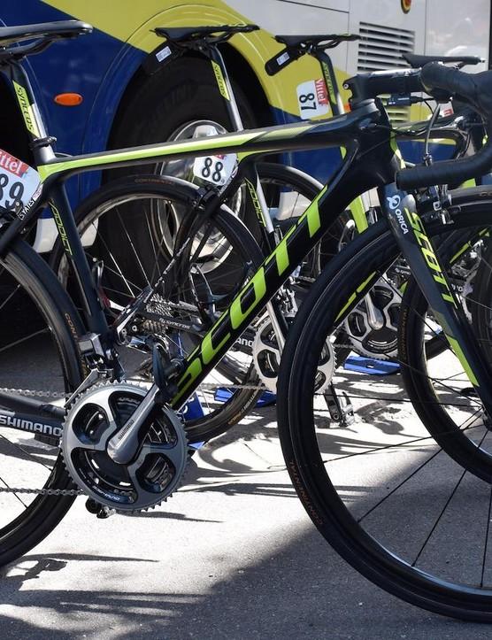 Simon Yates' Tour de France Scott Addict