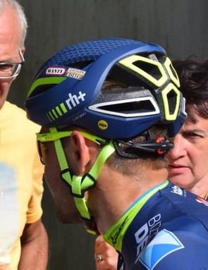 Wanty-Groupe Gobert riders have been wearing the MIPS version of the rh+ helmet