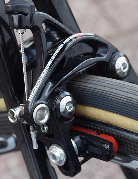 The V1-R had its rear brake located underneath the bottom bracket, the V2-R's rear brake is in the traditional location