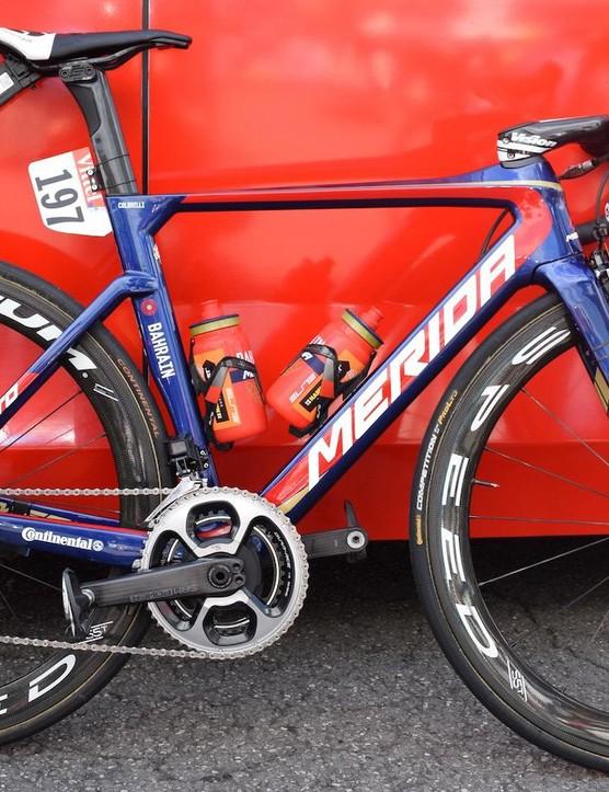 Sonny Colbrelli's Merida Reacto for the 2017 Tour de France