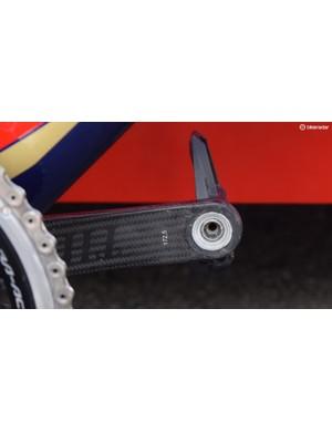 Colbrelli runs 172.5mm cranks