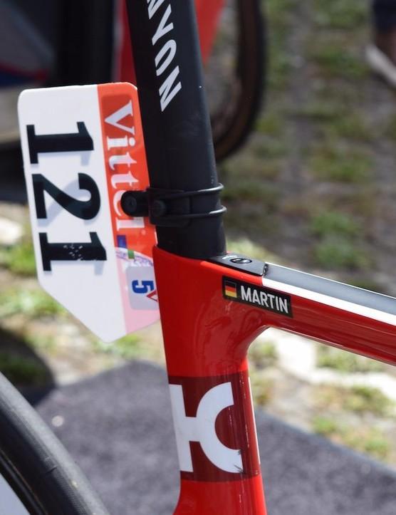 German rider, German Grand Depart, German frame