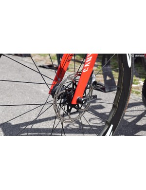 Katusha-Alpecin have been running 160mm rotors at the Tour de France, whilst Quick-Step Floors and Team Sunweb have been riding 140mm