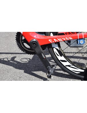 Tony Martin runs 175mm cranks on his road and time trial bikes