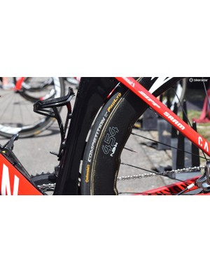 Continental's Competion ALX 25mm tubular tyres are the most prominent tyres in the WorldTour peloton