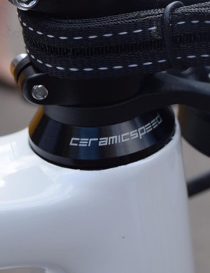 CeramicSpeed also provides the team with headsets and bottom brackets