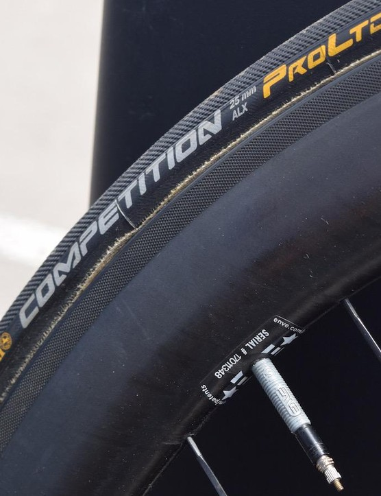 Dimension Data opts for Continental Competition ALX 25mm tubular tyres