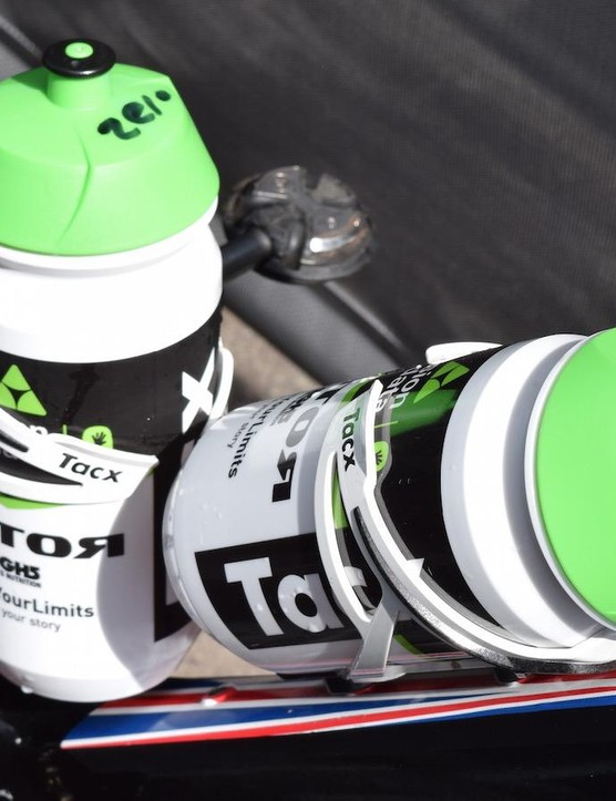 Dimension Data partners with Tacx for bottle cages, bidons and trainers