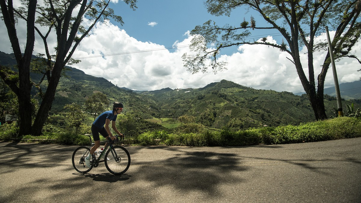 The Morton brothers' ride took them through some stunning scenery