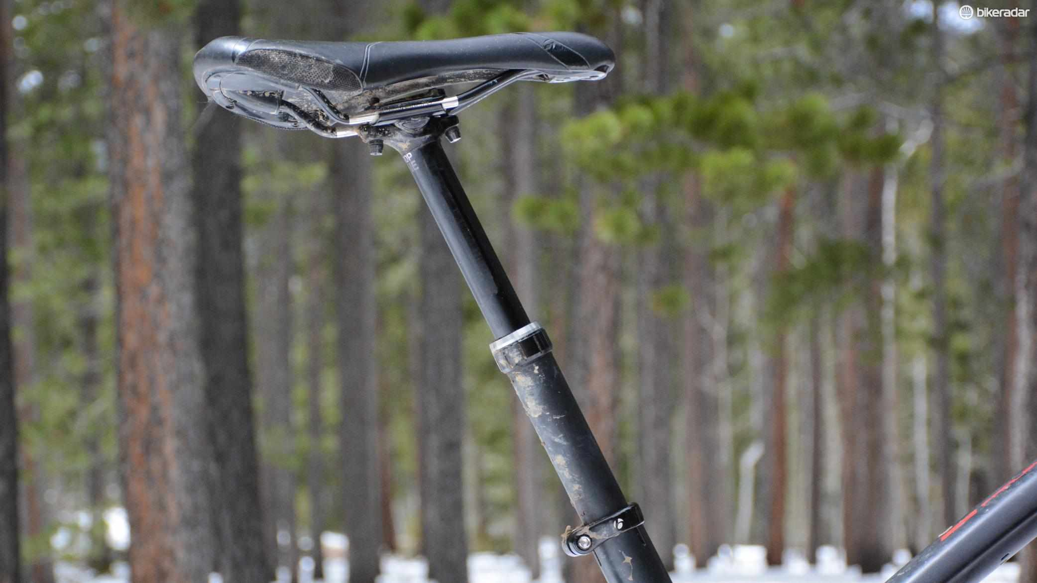 Bontrager's Drop Line dropper post is the first from Trek's component company
