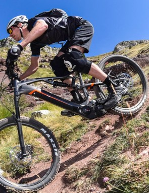 I took the Lapierre for a test ride around the Valberg resort in France