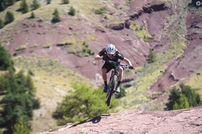 The suspension meant that I didn't have to hold back on the descents