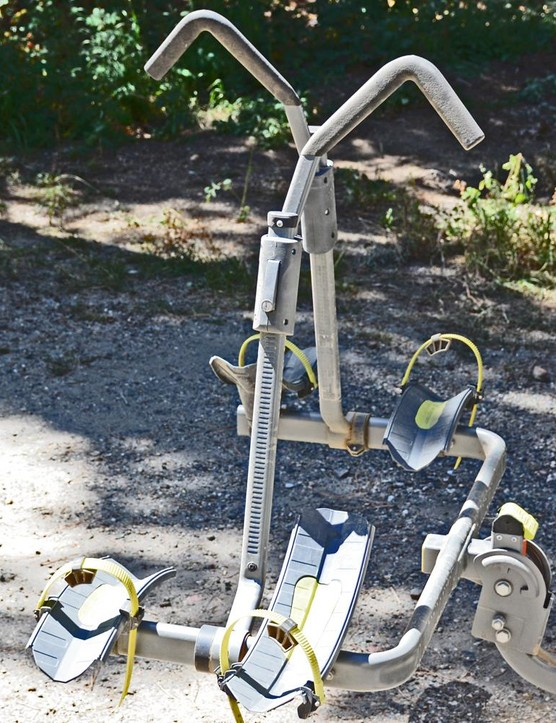Swagman's Sitkka 2 rack holds two bikes without touching the frame and doesn't cost a small fortune