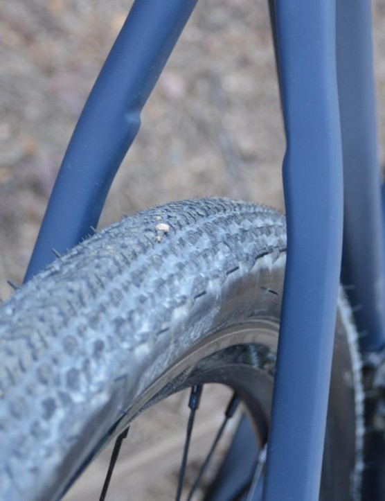 Norco removed the seatstay bridge for a claimed increase in comfort and compliance
