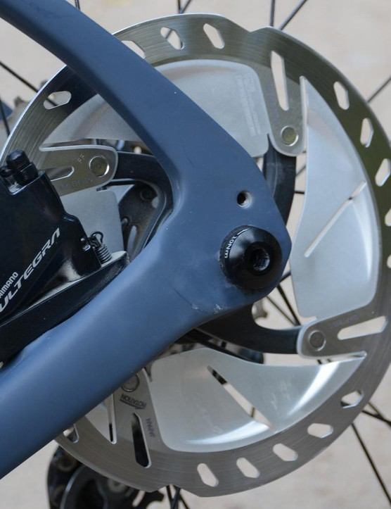 Shimano's Freeza wins the most futuristic looking rotor award