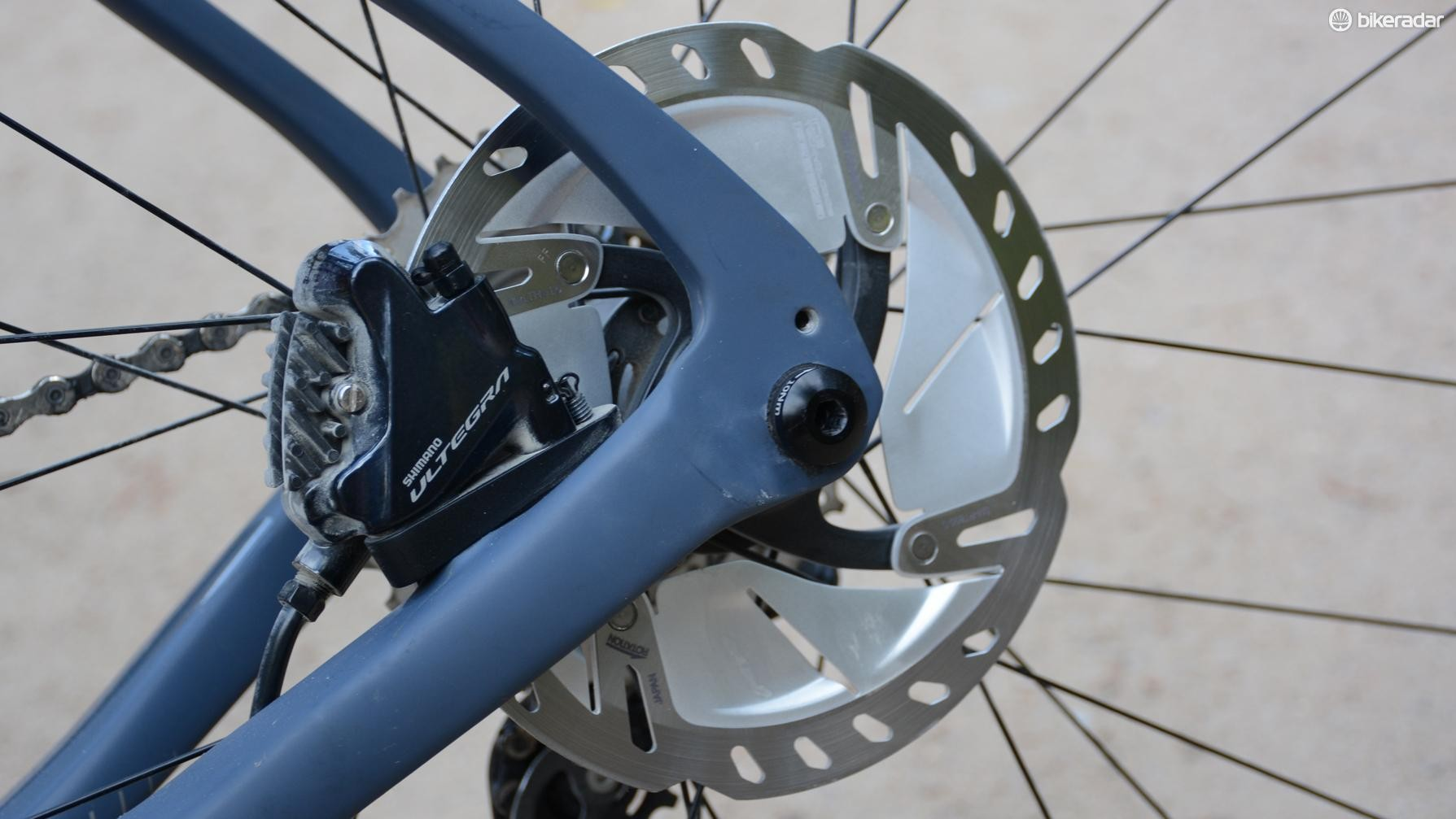 Disc brakes are better. Disc brakes with high-tech rotors are even better