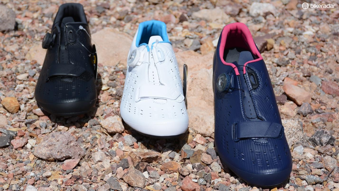 Shimano's new RP9 shoes are claimed to be its lightest yet at 224 grams