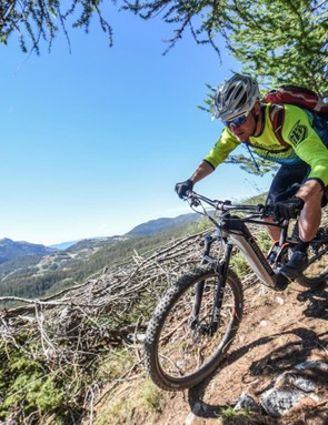 The new E-MTB mode uses the power more intelligently spanning a wider range of assistance and therefore limiting the need to change modes