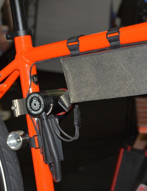 Your bike can be electrified with the not quite correctly-named Hidden Power system