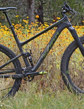 Kona's Hei Hei Supreme is an XC bike that wants to be a trail bike. I put on bigger tires to open up its potential