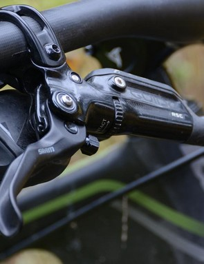 SRAM's Guide RSC brakes have fantastic modulation and decent power