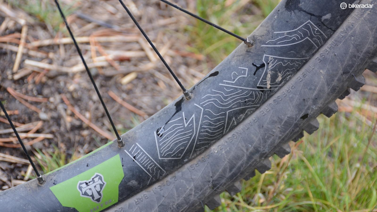 31mm wide WTB Ci31 carbon rims were an odd spec, but one that I grew to appreciate