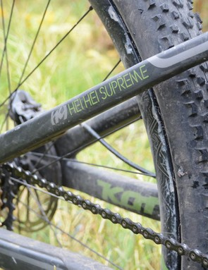 Kona's Fuse suspension platform does away with the pivot by the rear axle. The result is a taut, efficient ride