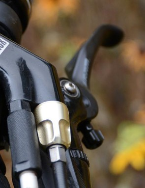 RockShox's Full Sprint lockout is acceptable on XC race whips, not so much here