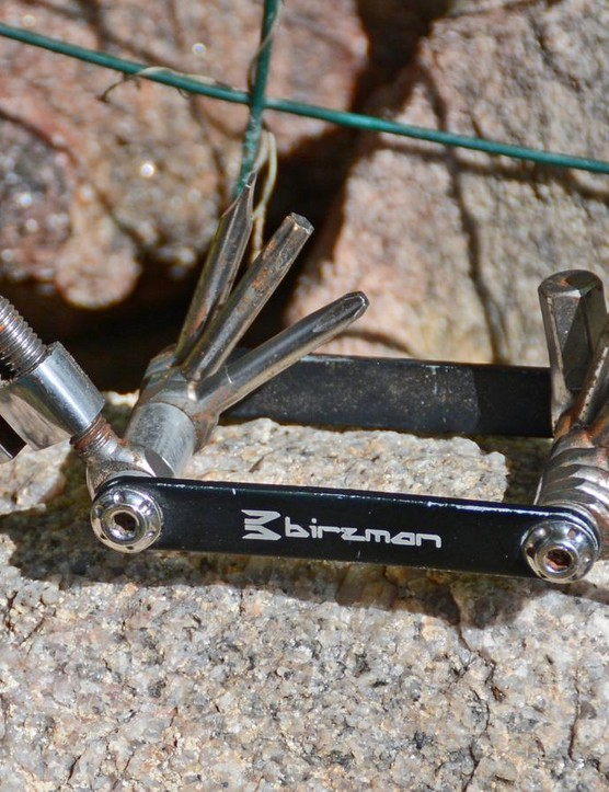 The chain breaker is surprisingly good and the rest of the Allen and Torx keys have been ride savers